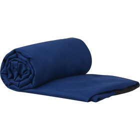 Sea to Summit Silk Stretch Liner Double, navy blue